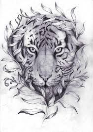 Image result for henna inspired tiger tattoo