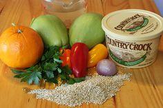 Quinoa Stuffed Chayote Squash - quinoa is the perfect stuffing for Chayote squash.