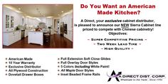 Complete Kitchen Package,  includes: Cabinets, Sink & Faucet, Granite Top w/ Installation ~ $3,786