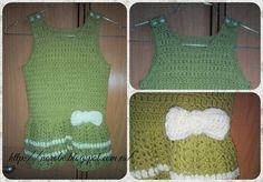 Norobe: Vestido verde pistacho