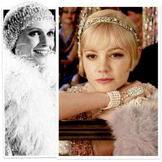 I have been debating hair styles and feel completely inspired by The Great Gatsby trailer.. Oh Carrie Mulligan you and that hairpiece!