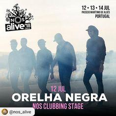 ORELHA NEGRA no NOS Alive a 12 Julho  O @nos_alive acaba de confirmar @orelha_negra para o primeiro dia do festival 12 de julho. Os portugueses irão actuar no palco NOS Clubbing. Sabe mais em www.canoticias.pt  @everythingisnewpt  #CANoticias #PalcoNosClubbing #NOSAlive #OrelhaNegra #musicfestival #music #summer #passeiomaritimodealges #oeiras #Portugal #visitportugal #visitlisboa #Lisbon #lisboalive #lisboa #festival #FestivaisDeVerão #Festivais #concerto #Concert #indie  #clubbing #music…