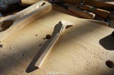 Wooden Fork / design by Jon Wu  Form 伍悦WUYUE的微博_微博