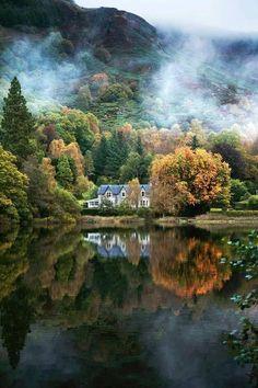 Loch Aberfoyle, Stirling, Scotland