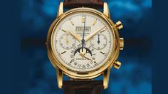 Patek Philippe Ref. 2499 Fourth Series retailed by Tiffany & Co. (lot 504) © Antiquorum