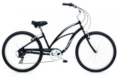 Electra Cruiser 7D Black Ladies Beachcruiser