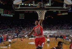 Fotografia de notícias : NBA finals, Chicago Bulls Scottie Pippen in...