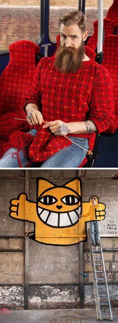 Camouflage knitwear!