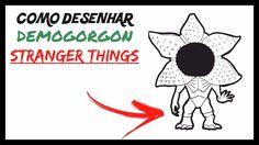Como desenhar o DEMOGORGON chibi (Stranger Things)