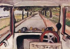 Henri Matisse. The Windshield. The Cleveland Museum of Art,