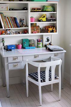 Hur fint är inte detta skrivbord!! Via Wonderdeco.se