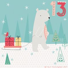 Day 13 Christmas advent, by Faye Buckingham