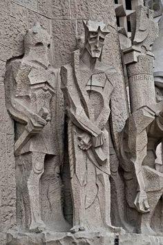 Temple Expiatori de la Sagrada Família / Barcelona / Spain by Antoni Gaudi Gaudi Barcelona, Barcelona City, Barcelona Catalonia, Barcelona Travel, Architecture Antique, Barcelona Architecture, Amazing Architecture, Art And Architecture, Art Nouveau
