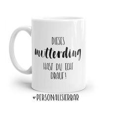 Mugs, Tableware, Tumbler Cups, Mother's Day, Do Your Thing, Dinnerware, Tumblers, Tablewares, Mug