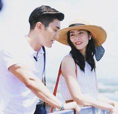 Love the hat Liu Wen - Siwon