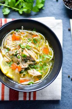One-Pot Pressure Cooker Chicken Noodle Soup. Pressure Cooker Soup Recipes, Using A Pressure Cooker, Pressure Cooker Chicken, Instant Pot Pressure Cooker, Slow Cooker, Pressure Oven, Pressure Canning, Enchilada Pasta, Easy Delicious Dinner Recipes