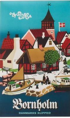vintage travel posters Norway Finland Iceland Sweden Denmark - Google Search