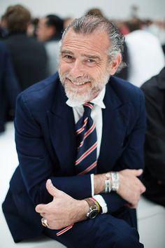 At Neil Barrett….Mr. Alessandro Squarzi, Milan (The Sartorialist)