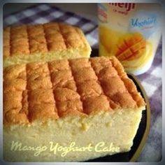 My Mind Patch: Mango Yoghurt Ogura Cake