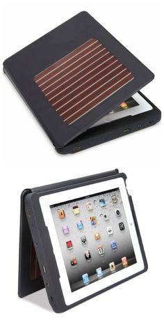 Solar charging protective sleeve for your iPad #solar #iPad #STEM