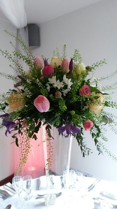 Lovely Spring Colour Flowers From Our Local Florist Baytree In Chipping Campden Perfect Wedding