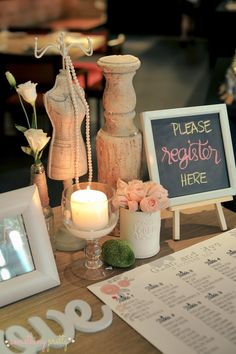 Registration Area | Rustic Theme | Event Styling by Something Pretty Manila for Gian and Mye's Wedding at Wafu Japanese Restaurant