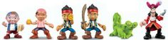 Fisher-Price Disney's Jake and The Neverland Pirates: Jake, Izzy and Cubby and Jake, Hook and Croc Pirate Pack (Complete Set of 6 Figures) by Fisher-Price, http://www.amazon.com/gp/product/B0084N7EMC/ref=cm_sw_r_pi_alp_DLIeqb027855E