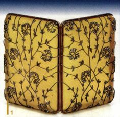 Fabergé: Jeweler to the Tsars - Ganoksin Jewelry Making Community Faberge Jewelry, Vintage Cigarette Case, Faberge Eggs, Imperial Russia, Russian Art, Or Antique, Vintage Accessories, Precious Metals, Art Nouveau