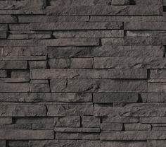 Pro-Fit Alpine Ledgestone - Dark Ridge  BUY AT http://www.boralamerica.com/cultured-stone/Where-To-Buy/cultured-stone
