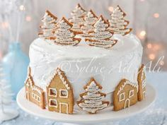 Village sous la neige et Cadeau • Hellocoton.fr