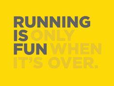 Nesnáším běhání!