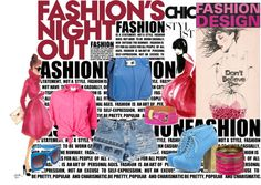 Fashion Night Out, created by ahpay12 on Polyvore