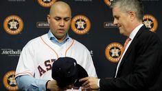 #MLB: Carlos Beltrán contento de aportar su liderazgo en los Astros para el 2017