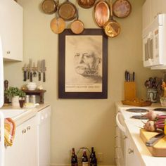 Great idea for a small apartment kitchen!