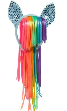 Rainbow Dash Headband Deluxe - My Little Pony - Party City