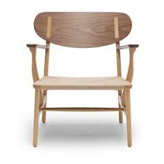CH22 lounge chair by Hans J. Wegner - Carl Hansen & Søn