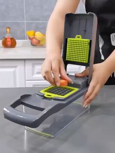 Product: Myvit Vegetable Cutter with Steel Blade Mandoline Slicer Potato Peeler Carrot Cheese Grater vegetable slicer Kitchen Accessories Kitchen Helper: This hand-held slicer made from Food-Grade stainless steel Cool Kitchen Gadgets, Home Gadgets, Cooking Gadgets, Cooking Tools, Kitchen Items, Kitchen Utensils, Diy Kitchen, Kitchen Tools, Cool Kitchens
