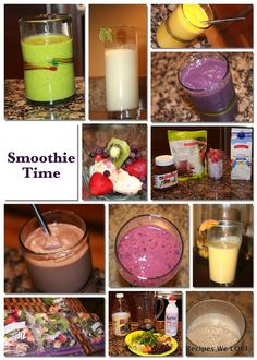 Recipes We Love: 11 Must Have Smoothies