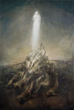 Resurrection by Odd Nerdrum image via www.redbubble.com