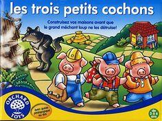 les trois petits cochons on pinterest three little pigs. Black Bedroom Furniture Sets. Home Design Ideas