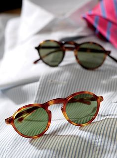Round Arched Sunglasses
