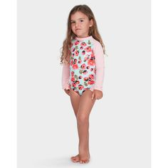 20460972665c1 BILLABONG GIRLS BEACH BELLA ONE PIECE The Beach Bella One Piece rashguard  is perfect for sun