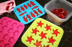 Homemade gummy treats for kids by @MaryLea Harris -- yum!