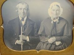 1-6th-Plate-Daguerreotype-Dag-Of-Grandma-Grampa-With-Stick-And-Glasses