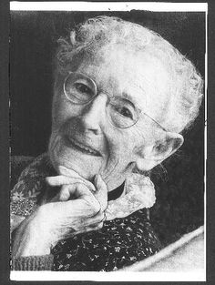 "Anna Mary Robertson Moses, better known as folk artist ""Grandma"" Moses, first took up painting in her 70s. How inspiring is that?"