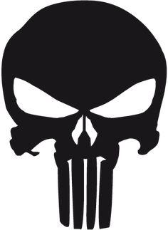 Vinilo decorativo logo the Punisher - TenVinilo