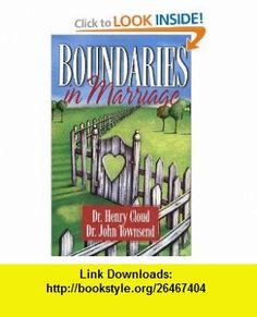 Boundaries in Marriage (9780310243144) Henry Cloud, John Townsend , ISBN-10: 0310243149  , ISBN-13: 978-0310243144 ,  , tutorials , pdf , ebook , torrent , downloads , rapidshare , filesonic , hotfile , megaupload , fileserve