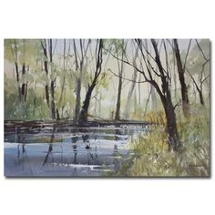 <li>Artist: Ryan Radke</li> <li>Title: Pine River Reflections</li> <li>Product Type: Gallery-wrapped canvas art</li>