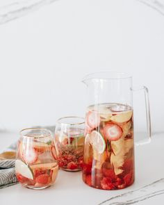 Rosé Sangria - the Perfect Summer Sipper - Wit & Delight