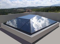αίθρια - skylights structural glazing heliolite
